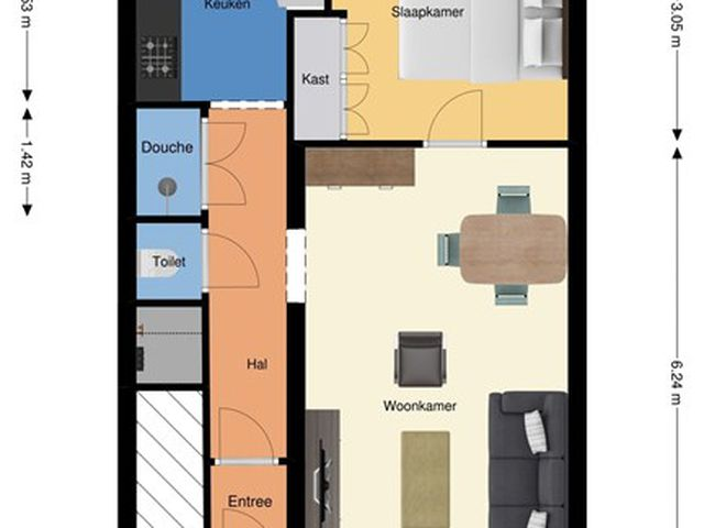 For rent: Apartment Rotterdam C.D.Tuinenburgstraat