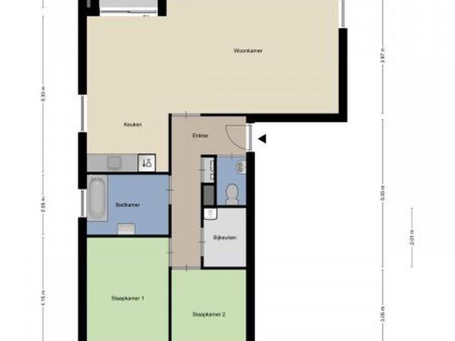 Te huur: Appartement Roosendaal Moerasberg