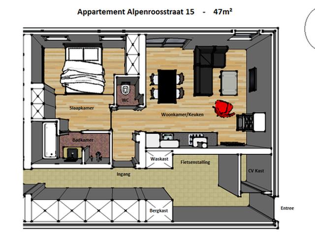 Te huur: Appartement Eindhoven Alpenroosstraat