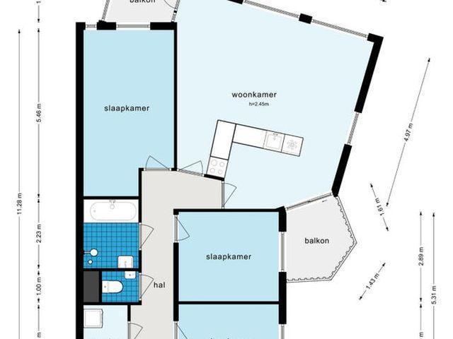 Te huur: Appartement Amsterdam Akersingel