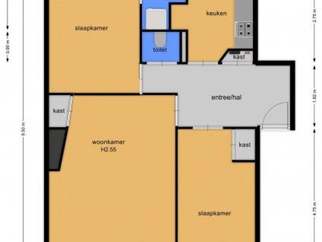 Te huur: Appartement Hilversum Admiraal de Ruyterlaan