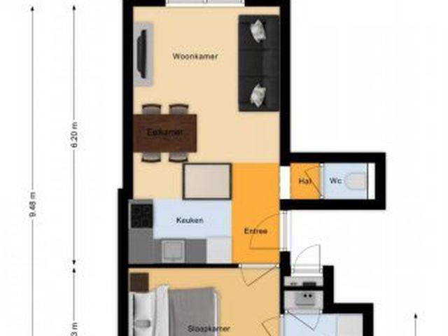 Te huur: Appartement Amsterdam Borssenburgstraat