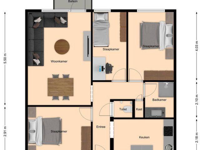 Te huur: Appartement Nuth Parklaan