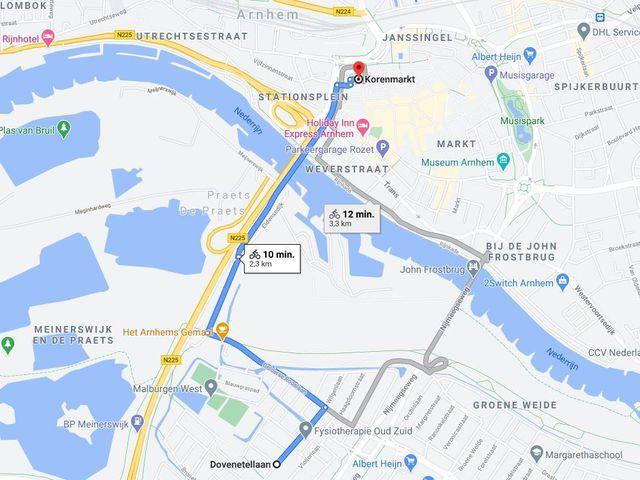 Te huur: Kamer Arnhem Dovenetellaan