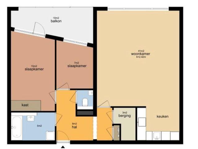 For rent: Apartment Amersfoort Piet Mondriaanlaan