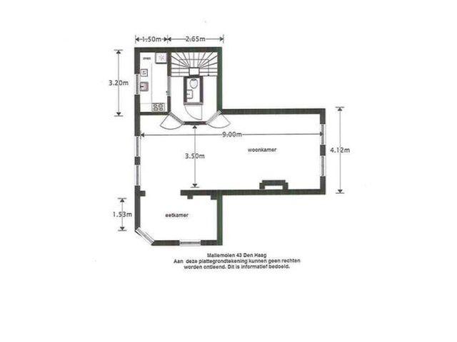 For rent: Apartment Den Haag Mallemolen