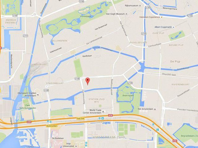 Te huur: Kamer Amsterdam Courbetstraat