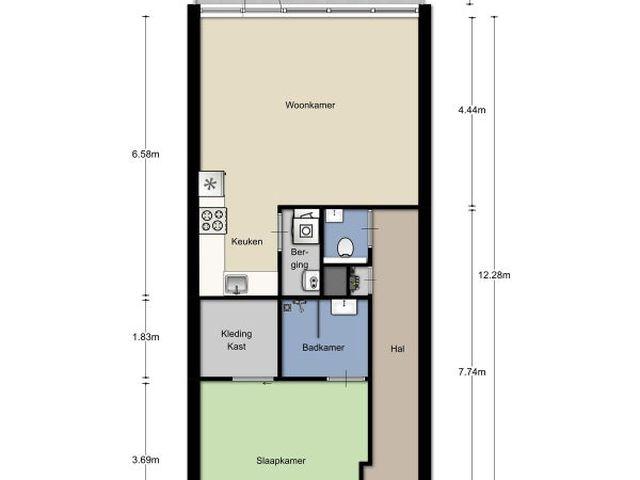 Te huur: Appartement Breda Vijfhagen