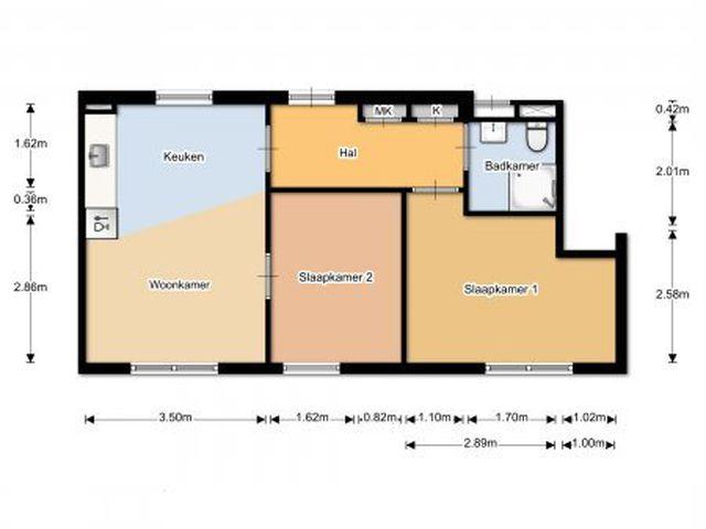 For rent: Apartment Eindhoven Verwerstraat