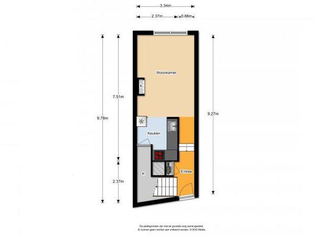 Te huur: Appartement Breda Françoise van Savoyetoren