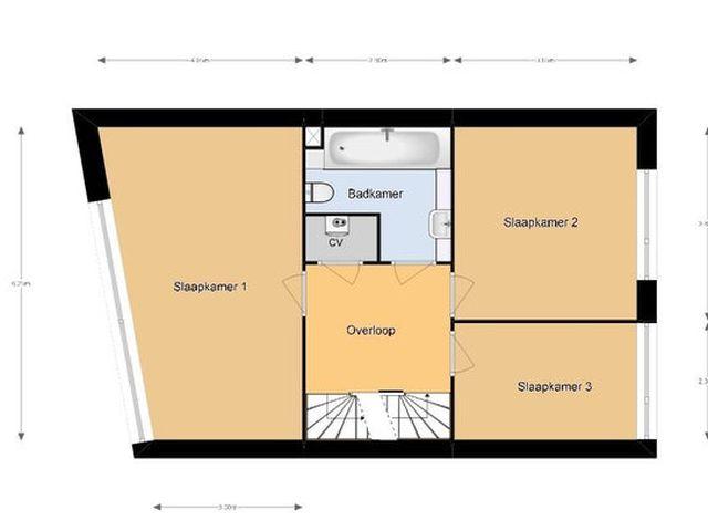For rent: House Den Haag Oeverbiesstraat